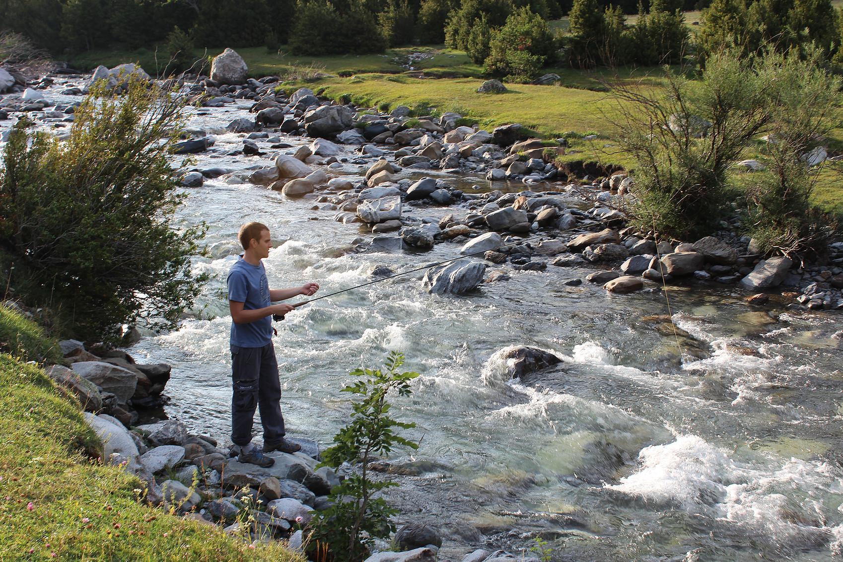 Pesca Pirenaica